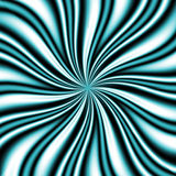 Vortice blu di Swirly Immagine Stock