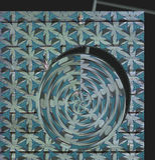 Vortice colorato immagini stock