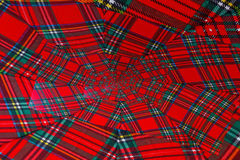 Vortice colorato Scottish Fotografie Stock