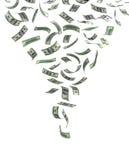 Vortice di soldi Immagine Stock