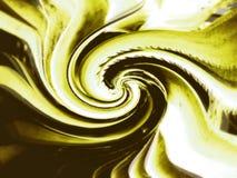 Vortice giallo Fotografia Stock Libera da Diritti