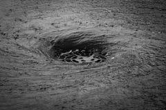 Vortice quando pioggia del ` s immagine stock