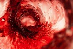 Vortice rosso fotografia stock libera da diritti