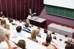 Vortrag an der Universität Stockbilder