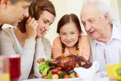 Vorwärts schauen zu den Mahlzeiten Lizenzfreie Stockbilder