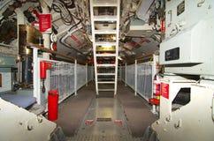 Vorwärts- Torpedofach HMAS Ofen-West-Australien-Seemuseum lizenzfreie stockfotografie
