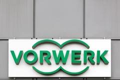 Vorwerk logo na ścianie Fotografia Stock