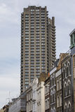 Vorwerk-Zustands-Turm-Block in London Stockbild