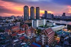 Vorzügliche Kunst Tempel-Thailands Stockbild