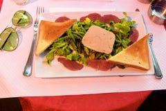 Vorzüglicher Teller für Abendessen Lizenzfreie Stockfotografie