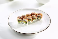 Vorzügliches asiatisches Menü im Restaurant Lizenzfreie Stockfotos