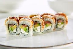 Vorzügliches asiatisches Menü im Restaurant Lizenzfreie Stockfotografie
