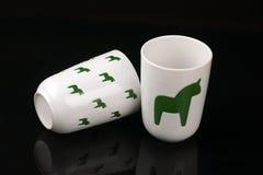 Vorzügliches keramisches Cup stockbilder