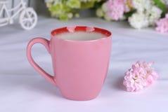 Vorzügliches keramisches Cup Lizenzfreies Stockbild