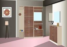 Vorzimmerdesign Stockbilder