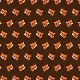 Vos - emojipatroon 10 vector illustratie