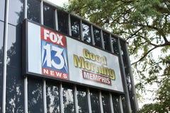 Vos 13 Goede Morming Memphis van de nieuwspost Royalty-vrije Stock Afbeeldingen