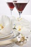Vos orchidées et mine photographie stock