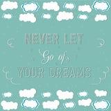 Vos rêves Image stock