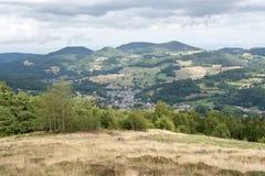 Vosges sceneria Obrazy Stock