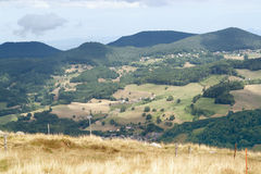 Vosges scenery Royalty Free Stock Image