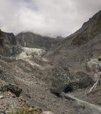 Vosgletsjer in Nieuw Zeeland Stock Afbeelding