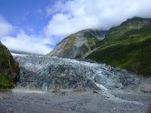 Vosgletsjer Nieuw Zeeland Stock Afbeeldingen