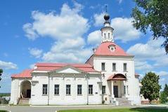 Voskresenskaya kościół w Kolomna Kremlin, Moskwa region Obrazy Royalty Free