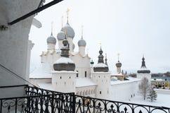 Voskresenskaya Nadvratnaya Cathedral in Rostov Kremlin. Russia Royalty Free Stock Photos