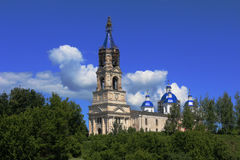 Voskresensky Cathedral, 1382, the city of Kashin,. Voskresensky cathedral architecture historic building tourist route oldest building in the citys history city stock image