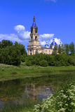 Voskresensky Cathedral, 1382, the city of Kashin,. Voskresensky cathedral architecture historic building tourist route oldest building in the citys history stock image