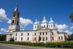 Voskresensky cathedral, Kashin, Russia Stock Image