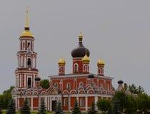 Voskresensky cathedral. In Staraya Russa hoditsya in Novgorod region, Russia Stock Image