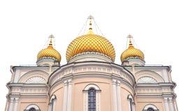 Voskresensky domkyrka av den ortodoxa Voskresensky Novodevichy kloster Arkivfoto