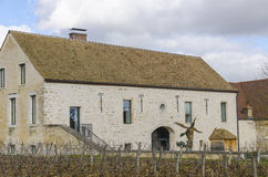 Vosne-Romanee, burgundy, France, saone-et-loire Royalty Free Stock Photography