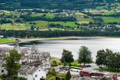 Voss, Норвегия Стоковое Изображение