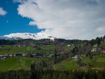 Voss en Norvège images stock