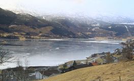 Voss, Norvège Photos libres de droits