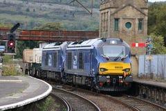 Vossloh UKLight för grupp 68 dieselelektriska locos Arkivbilder