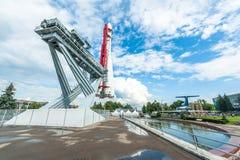 Vostok Rocket at the VDNKh Stock Image