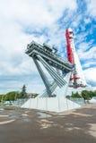 Vostok Rocket at the VDNKh Stock Photography