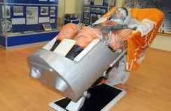 Vostok statku kosmicznego tryskanie Seat Obraz Royalty Free