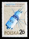 Vostok (USSR), rymdskeppserie, circa 1966 Arkivbilder