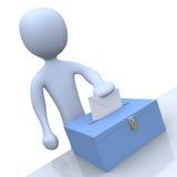 Votação ilustração stock