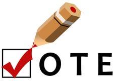 Votação Fotografia de Stock Royalty Free