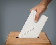 Votación de la mano Fotos de archivo