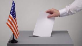 Votación y elecciones almacen de video