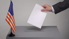 Votaci?n y elecciones almacen de video