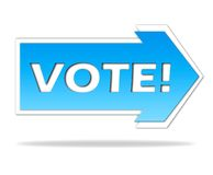 Vote! stock images