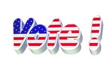 Vote ! Stock Images